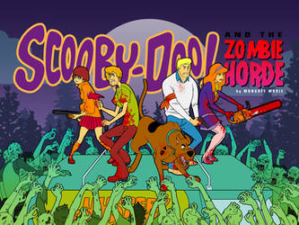 Scooby-Doo and the Zombie Horde by mongrelmarie