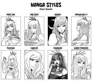 Manga Styles with Hani Hachi