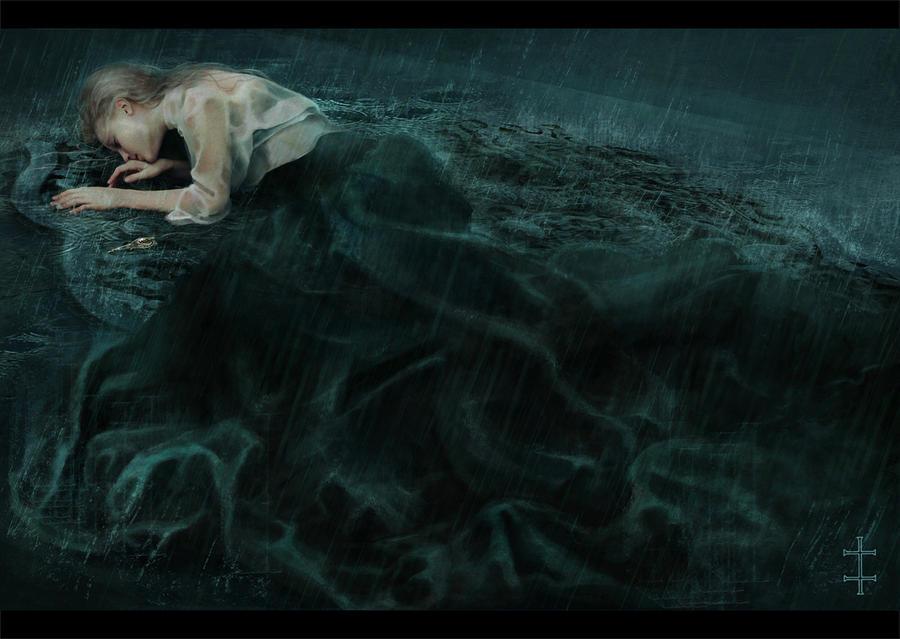 .:The Girl In The Rain:. by EVentrue