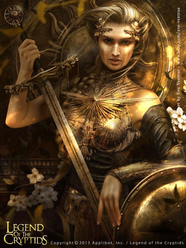 Sense, the Goddess I by EVentrue