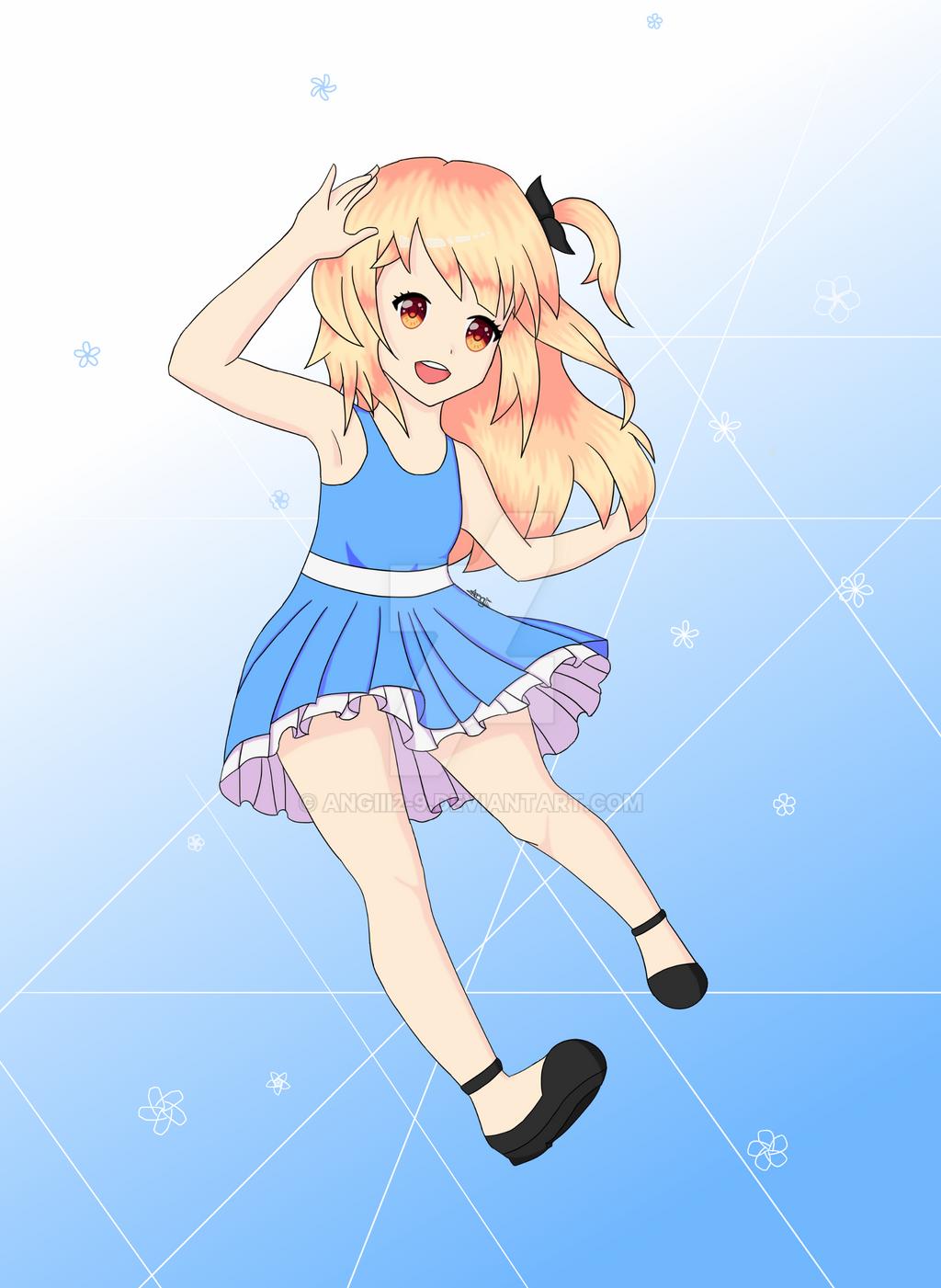 Anime Girl by Angiii2-9