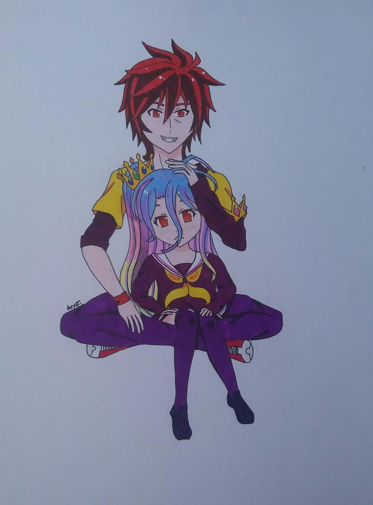 Sora and Shiro by Angiii2-9