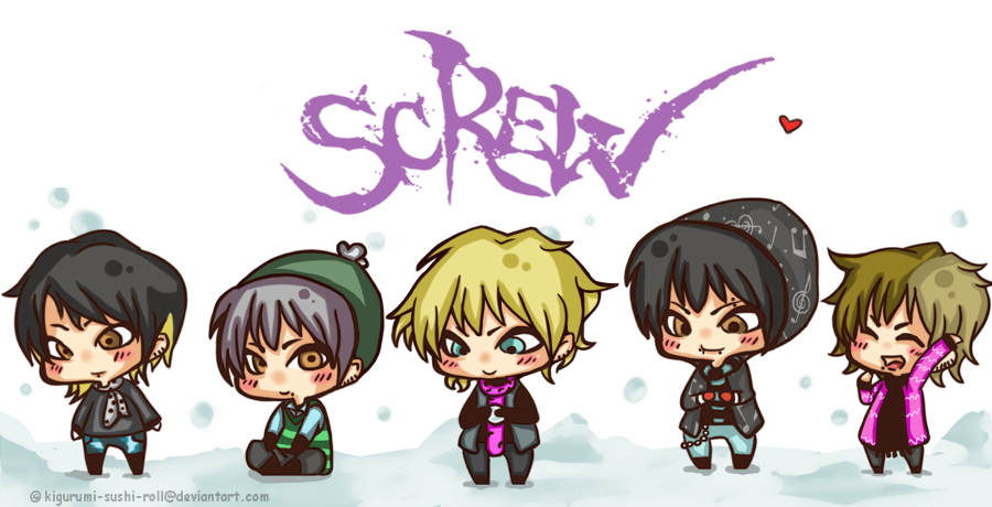 ScReW..in Snow by kigurumi-sushi-roll