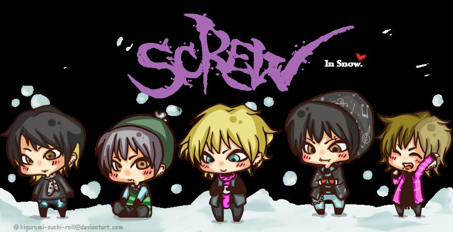 ScReW..in Snow by kigurumi-sushi-roll
