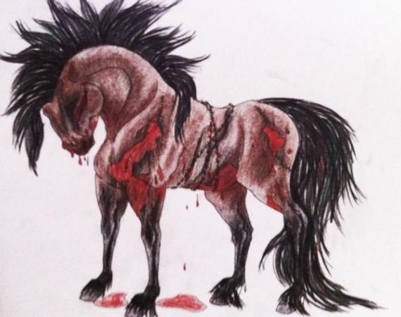 Zombie Horse by LauraF...