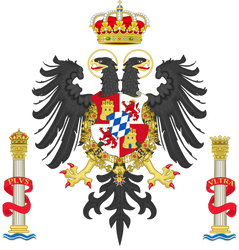 Arms of Spain under the Wittelsbach Dynasty