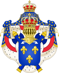 Coat of Arms of a Vichy France Monarchy