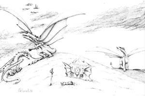 Dragons and the War of Atlantis