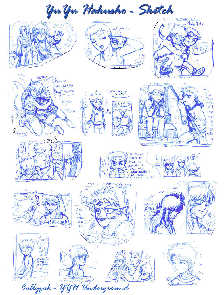 YYH Underground - Sketches by Callyzah