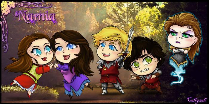 Narnia.:.Chibis