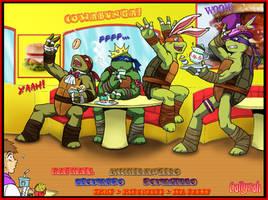 TMNT...Let's celebrate! by Callyzah