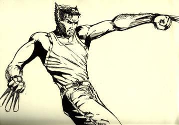 Wolverine by Guorba