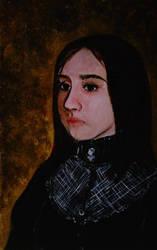 Ancient portrait by Guorba