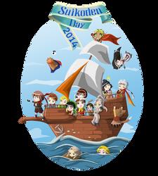 Logo Suikoden Day 2014 by ChiisaYanagi