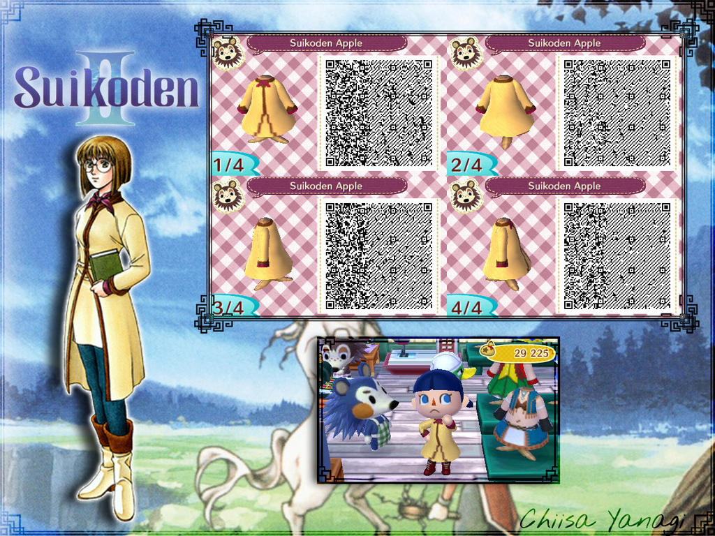 Acnl Qr Code Suikoden Ii Apple Suit By Chiisayanagi On