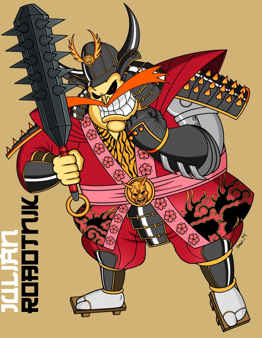 shogun_julian_robotnik_by_mobianmonster-