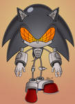 Silver Sonic 2.0 Chibi by MobianMonster