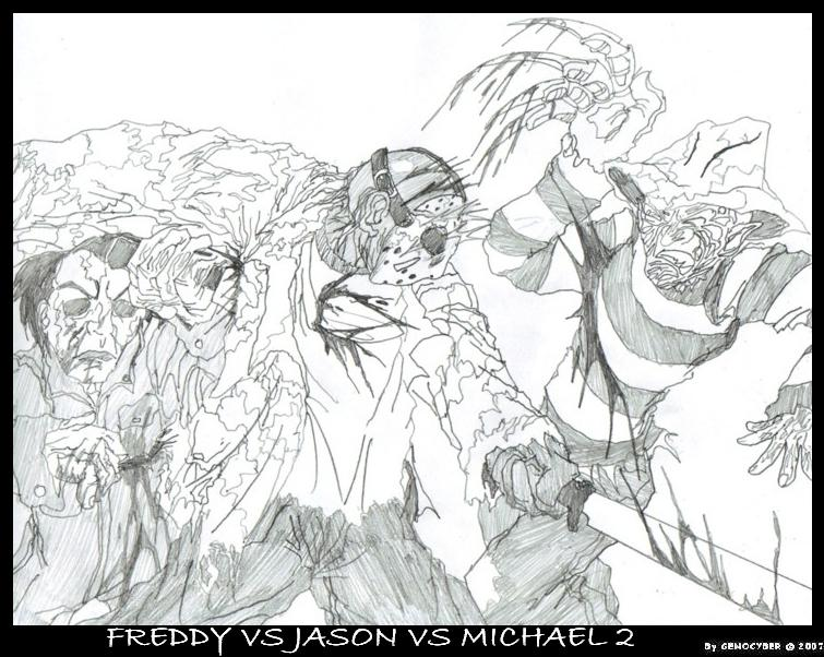 Freddy VS Jason Michael 2 By MobianMonster