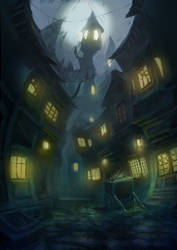 Spooky Street by KillerBe
