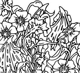 Dragon Colouring Page 2 by heatherleeharvey