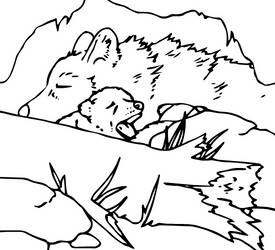 Canine Colouring Page 1 by heatherleeharvey