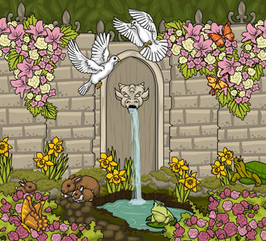 Secret Garden by heatherleeharvey