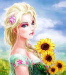 fever Elsa by EYKIHAN