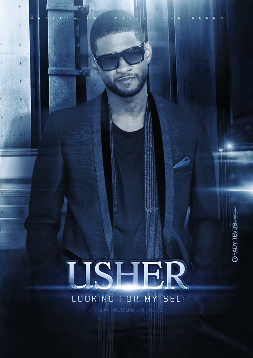 Usher Album Cover Looking 4 Myself Usher - Looking For My...