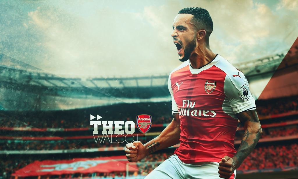 Theo Walcott Arsenal by Sugandh-S