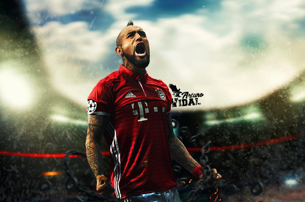 Arturo Vidal Bayern Munich Wallpaper by Sugandh-S