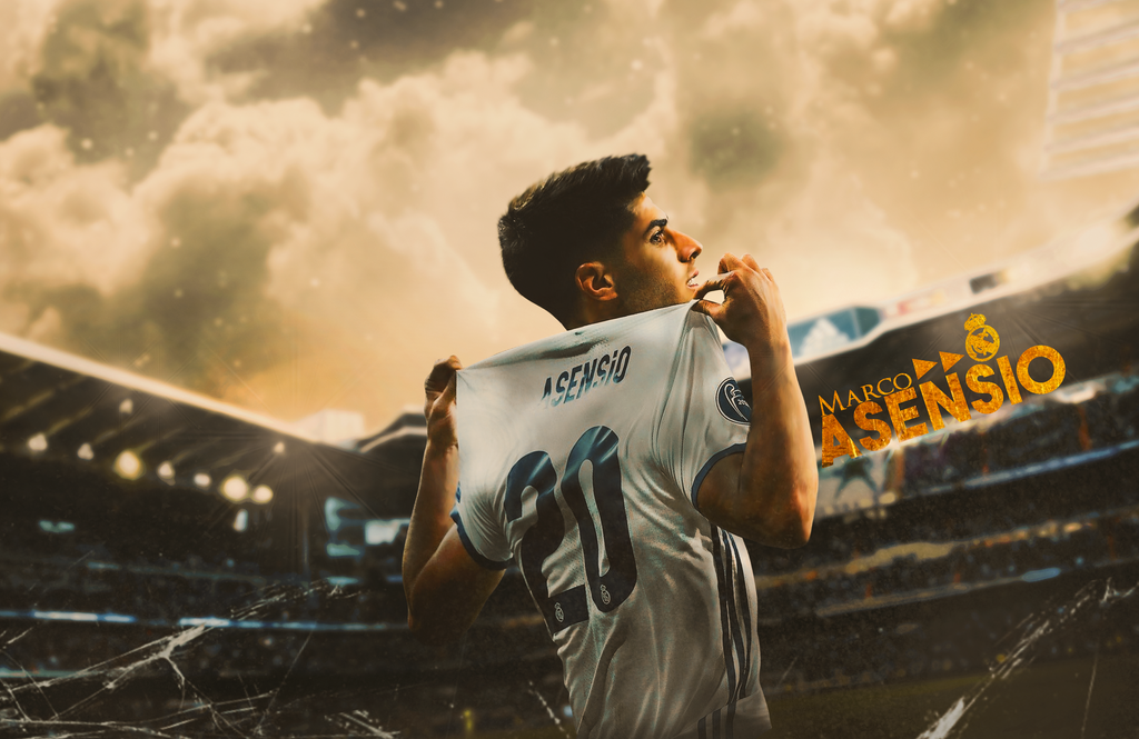 Marco Asensio-Real Madrid by Sugandh-S