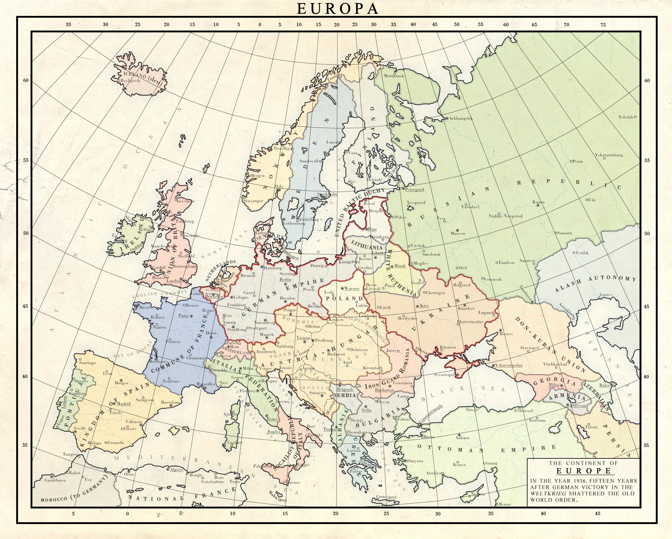 Kaiserreich 1936 by Milites-Atterdag