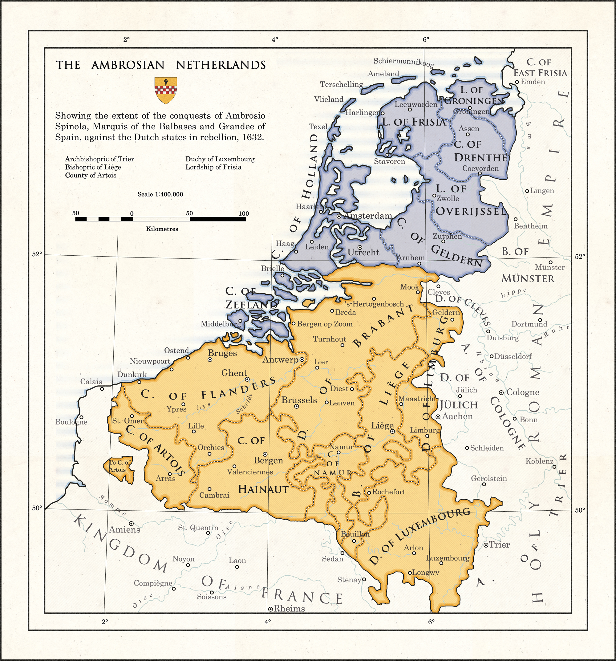 The Ambrosian Netherlands by MilitesAtterdag on DeviantArt