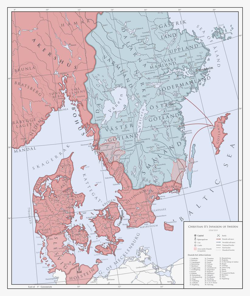 ATL: Dano-Swedish War of 1518/1519 by Milites-Atterdag