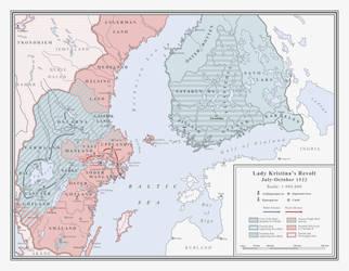 ATL: Lady Kristina's Revolt - Second Phase by Milites-Atterdag