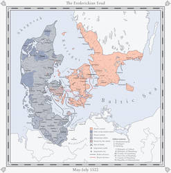 ATL: The Frederickian Feud - Third Phase by Milites-Atterdag