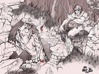 Catching a Guardian Werewolf by jonWILEY