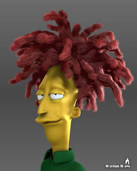 Sideshow Bob from Simpsons