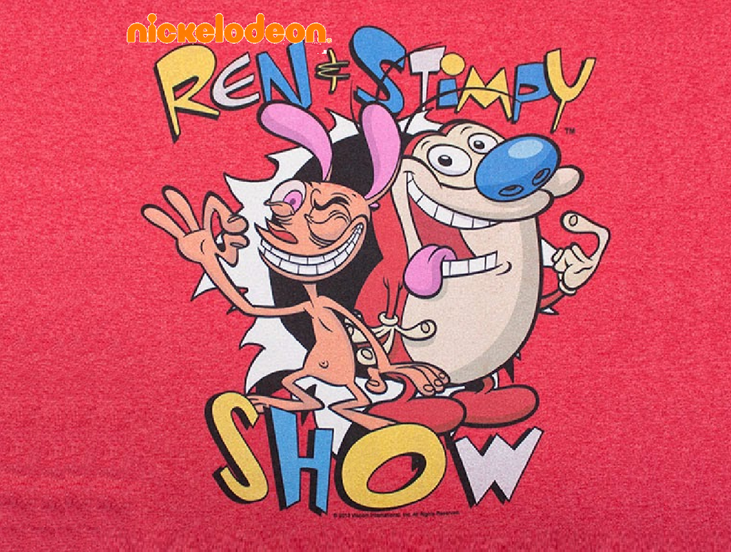my custom ren and stimpy show logo by superblueguy on deviantart
