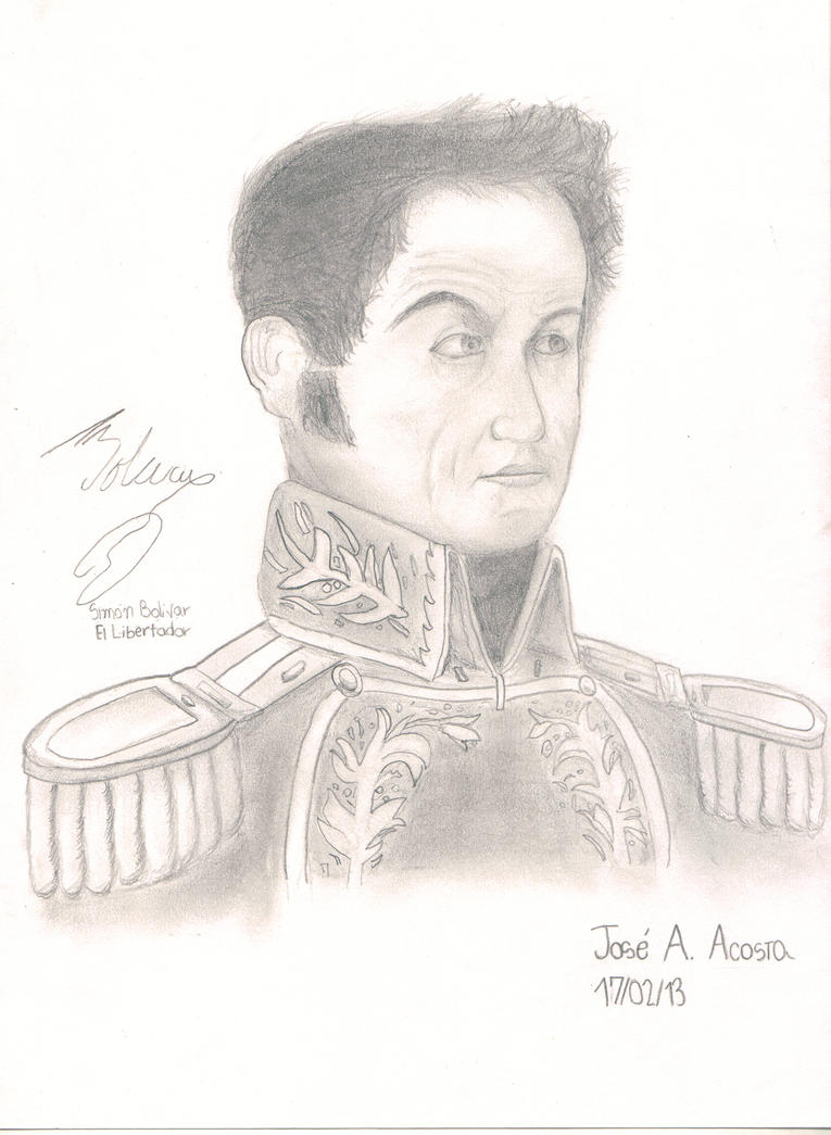 Simon Bolivar by 613acosta on DeviantArt