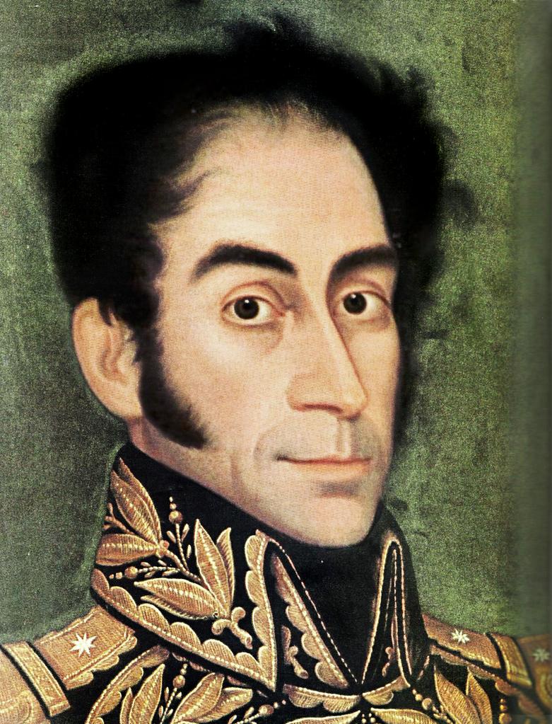 El Libertador (detalle del rostro) by 613acosta