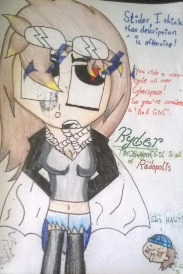 Ryder: The Baddest Girl in Radopolis by DawnStar007