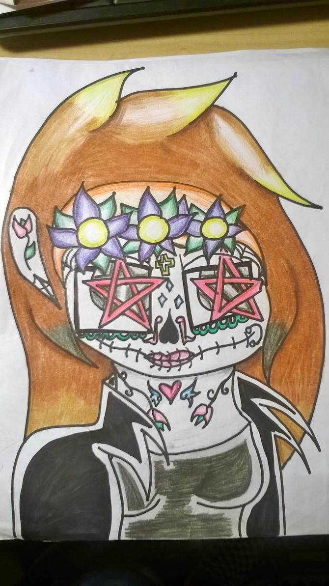 Ryder Seven Sugar Skull by DawnStar007