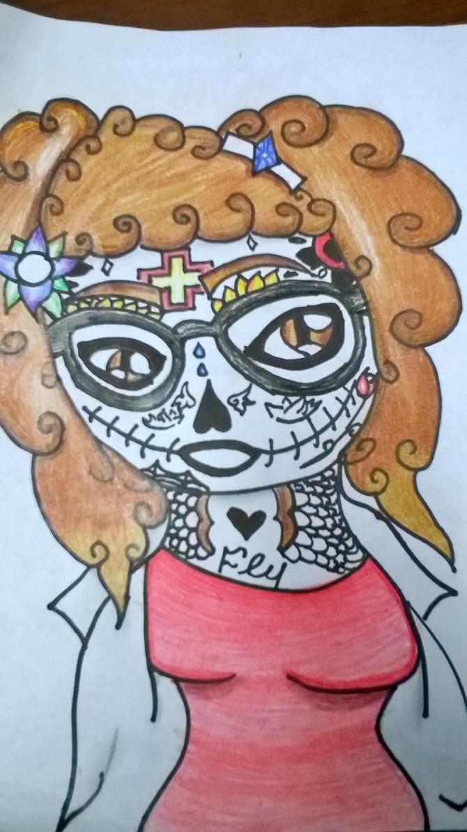 Sugar Skull #3 by DawnStar007