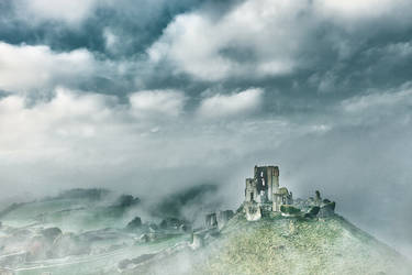 Corfe Castle - The 2nd conquest by RehanZia