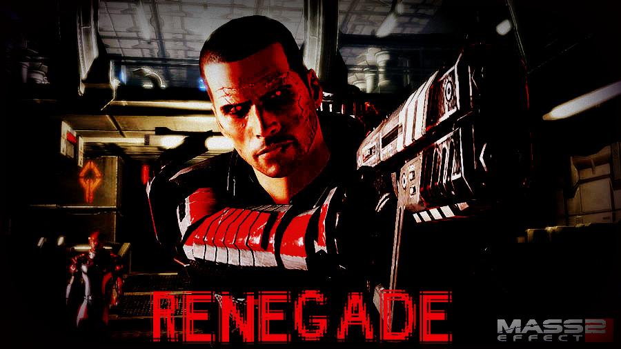 Renegade Shepard By ExileRogueRand On DeviantArt