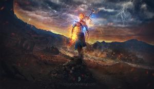 God of War by btgarts