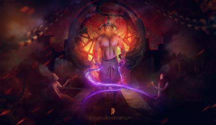 Underworld God by btgarts