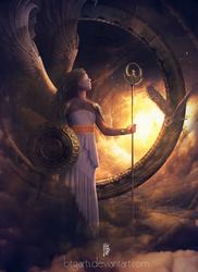 Goddess of Wisdom by btgarts