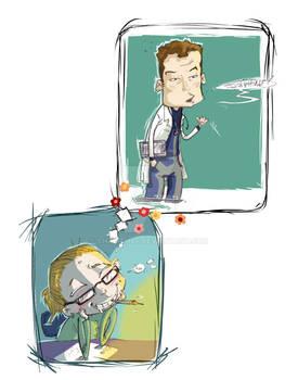Dr Cox...
